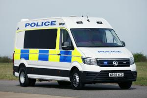 2019 Volkswagen Crafter High Roof Van LWB Police