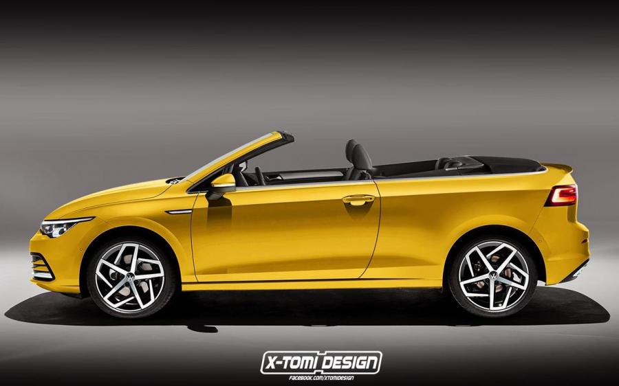 Volkswagen Golf Cabriolet by X-Tomi Design '2019