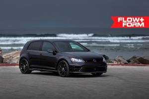 2019 Volkswagen Golf R on HRE Wheels (FF10)