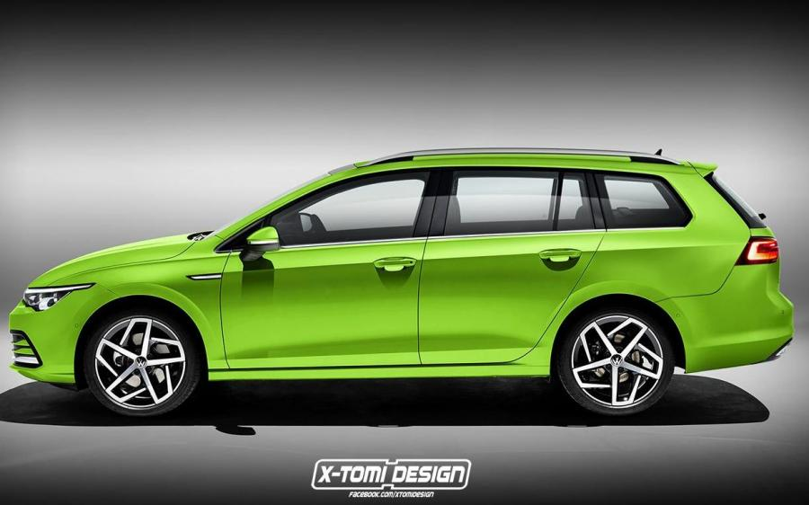 Volkswagen Golf Variant by X-Tomi Design '2019