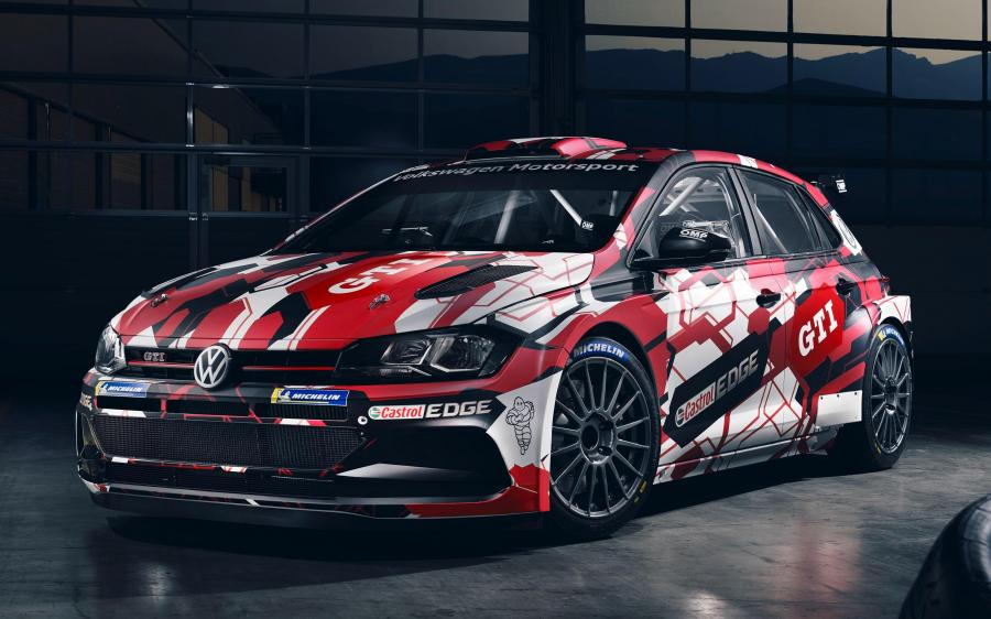Volkswagen Polo GTI R5 (Typ AW) '2019