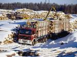 Volvo F12 6x4 Timber Truck 1987 года