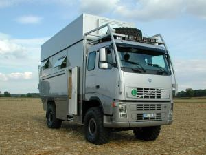 Volvo FH12 4x4 VXL 16-HD by Unicat 2007 года