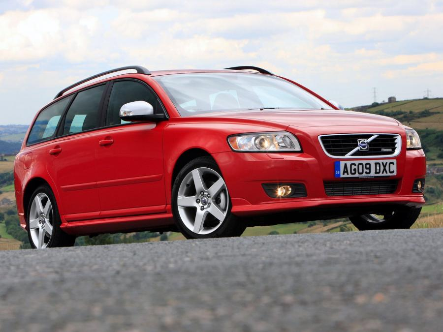 2009 Volvo V50 DRIVe R-Design (UK)