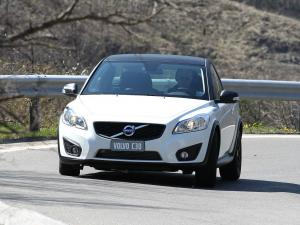 Volvo C30 Black Design Carboon Look 2011 года