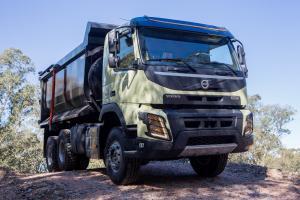 2013 Volvo FMX 460 6x4 Rigid Day Cab with Facchini Tipper Body