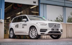 Volvo XC90 Drive Me Test Car