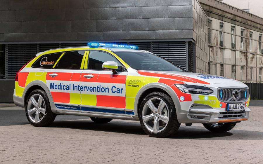 2019 Volvo V90 Cross Country Medical Intervention Car