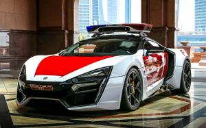 W Motors Lykan HyperSport Dubai Police '2015