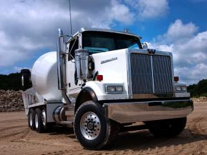 2008 Western Star 4800 SF 6x4 Mixer