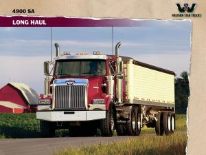 2008 Western Star 4900 SA Long Haul