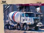 Western Star 4900 SA Twin Steer Mixer 2008 года