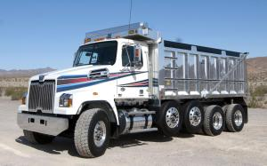 Western Star 4700 Set Forward Dump Truck