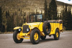 1925 White Model 15-45 Yellowstone Park Tour Bus by Bender