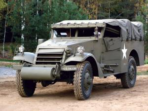 White M3 Scout Car 1937 года