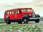 White Model 706 Tour Bus by Bender 1937 года