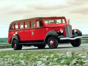 1937 White Model 706 Tour Bus by Bender