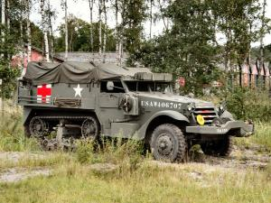White M3 Half-Track Ambulance 1940 года