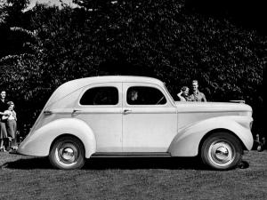 Willys-Overland Model 39 4-Door Sedan 1939 года