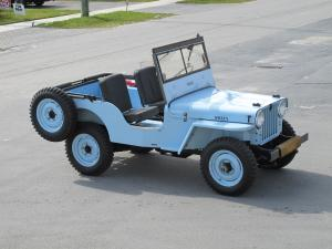 Willys Jeep CJ3 1949 года