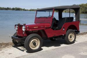 1949 Willys-Overland CJ-3A