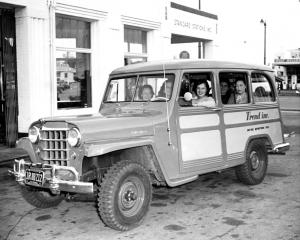1950 Willys Jeep Station Wagon