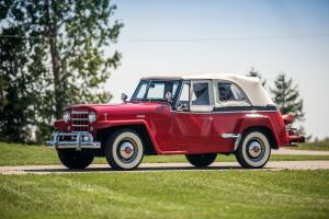 Willys-Overland Jeepster Phaeton 1950 года