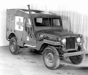 Willys-Overland CJ-4MA-01 Ambulance 1951 года