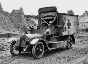 Wolseley 16/20 HP Ambulance '1911