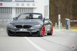 2017 BMW M4 Convertible on Vossen Wheels (VPS-314T)