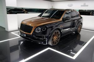 2017 Bentley Bentayga Shadow Gold by Startech