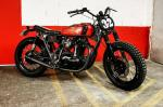Blitz Motorcycles x R.M. Williams: кастом Kawasaki W650