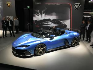 2018 ItalDesign Zerouno Roadster