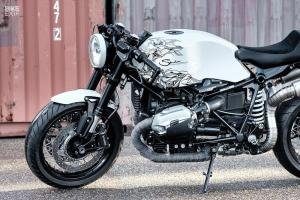 2018 BMW R nineT Ghost Dog by Smokin' Motorcycles