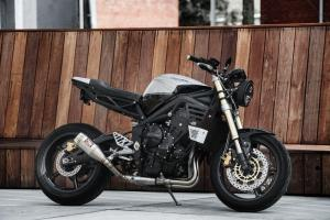 2018 Triumph Street Triple 675 by Redeemed Cycles