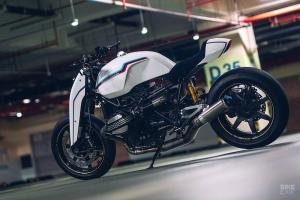 Onehandmade: кастом BMW R nineT Version 2