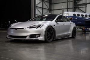 Unplugged Performance подготовили Tesla Model S для SEMA