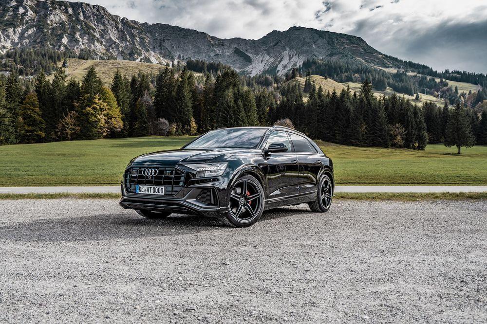 кроссовер Audi Q8 обзавелся новым тюнингом от Abt Vercity