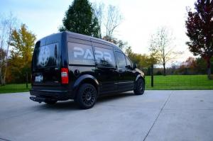 2012 Ford Transit Connect Moto Van by PARR Motorcycles