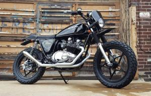 Brick House Builds: скрэмблер Suzuki GS450L