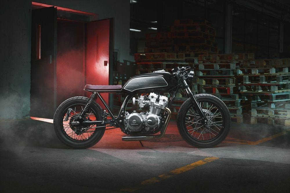 интересная работа мастеров из Thracian Custom Bikes над Honda Cb750