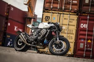 2003 Kawasaki Z1000 by Cowboy's Choppers