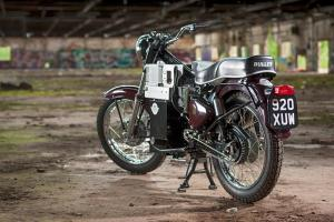 1961 Royal Enfield Charging Bullet by Fred Spaven