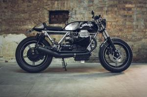 1986 Moto Guzzi Le Mans 1000 Aquila Nera by Side Rock Cycles