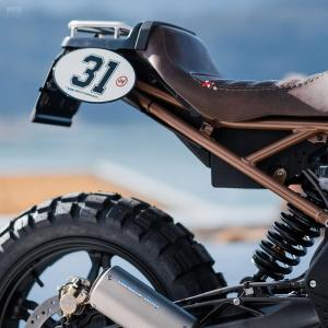 2019 BMW G310 GS by VTR Customs