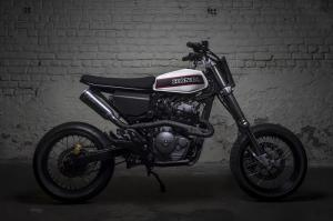 2019 Honda FMX650 by Toma Customs