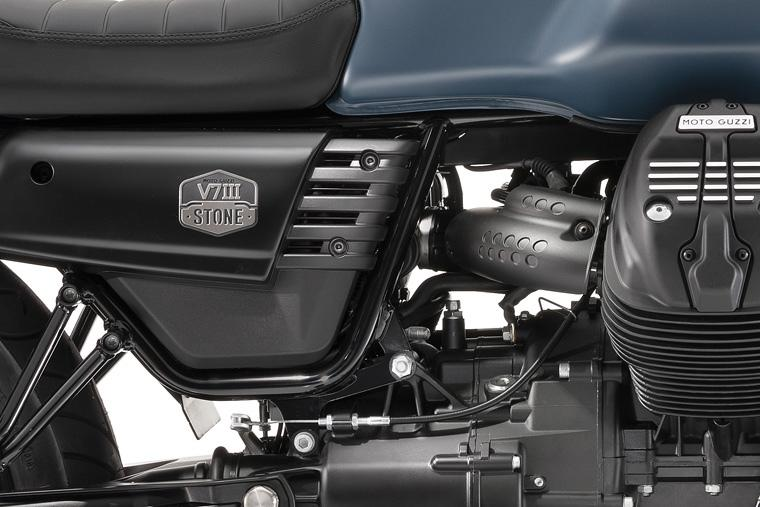 байк Moto Guzzi V7 Iii Stone с оснащением Night Pack Vercity