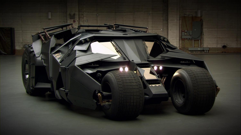 Бэтмобиль из темного рыцаря