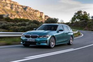 BMW 330d xDrive Touring Luxury Line 2019 года