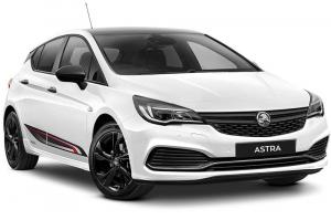Holden показала новую Astra RS Black Edition